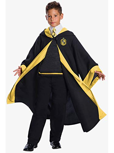 Deluxe Kids Hufflepuff Student Costume Medium