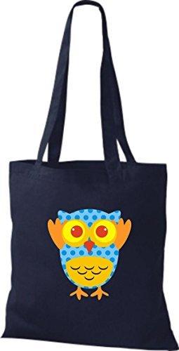 Mujer Bolso Azul Shirtinstyle De Para Tela Algodón UfzUXq8w