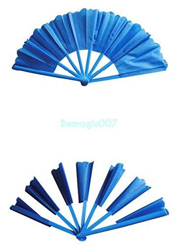 Broken-Restored Fan-Oriental Blue - Stage Magic Tricks