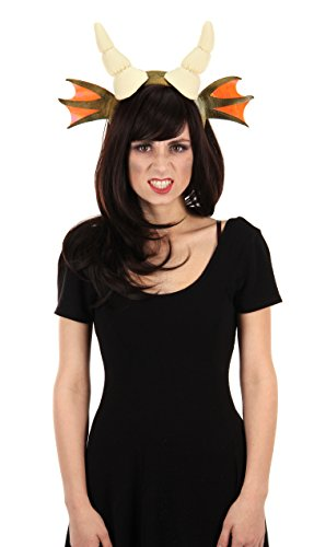 Dragon Plush Horn Costume Headband for Adults by elope (Dragon Costumes Adults)