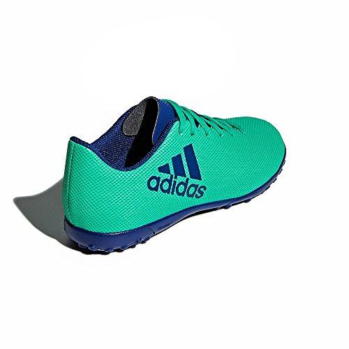adidas Performance Jungen Fußballschuhe Kunstrasen X Tango 17.4TF blau / grün (954)