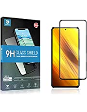 Mocolo Full Glue 9H Tempered Glass Screen Protector For Xiaomi Poco X3 NFC - Black Frame