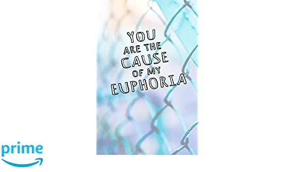 Amazon com: You are the Cause of My Euphoria: Blank Journal and