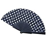 Dsood Wedding Gifts, 8 Colors Chinese Folding Paper Fan Retro Hand Loot Fans Wedding Party Favors,Party Favors