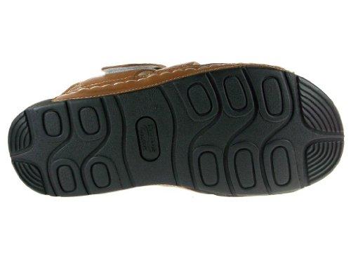Heren Jf1-32 Comfort Walking Vissers Sandalen Bruin