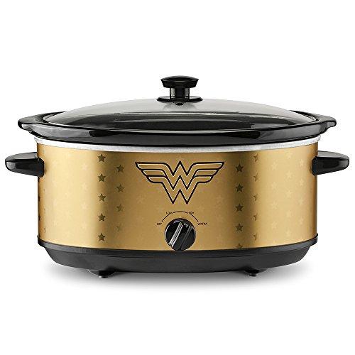 Cheap DC Wonder Woman 7-Quart Slow Cooker