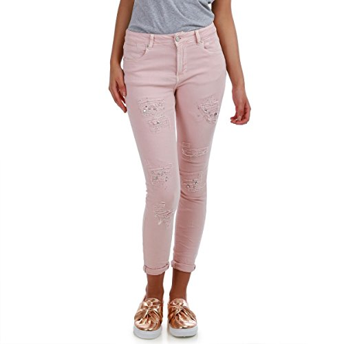 Rose Slim Modeuse La Coupe Jeans ftnIqwU8