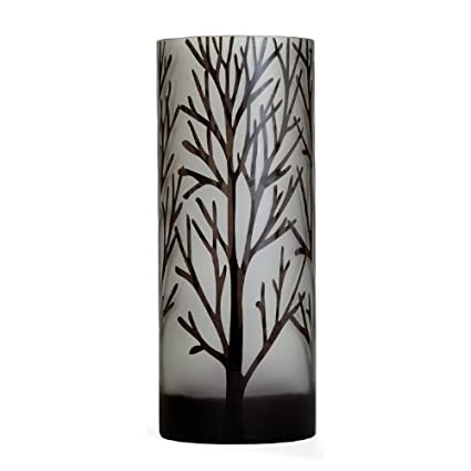 Amazon Torre Tagus 901577b Etched Tree Glass Vase Tall