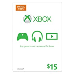 Get an Xbox gift card for games and entertainment on Xbox and Windows. Buy the latest games, map packs, movies, TV, music, apps and more.* And on Xbox One, buy and download full blockbuster games the day they're available everywhere. Great as...