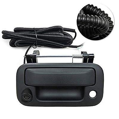 Ford Rear View Camera Backup Camera Tailgate Handle Car Rear View Camera Car Camera for Ford F150/F250/F350/F450/F550 (Color: Black): Car Electronics