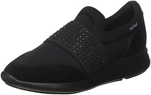 Geox Para black A D Ophira Mujer Negro Zapatillas P8Tr1Pwxq
