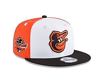New Era Baltimore Orioles 2018 MLB All-Star Game 9FIFTY Snapback Adjustable Hat – White/Black by New Era
