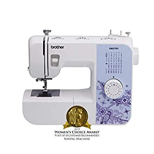 Brother Sewing Machine, XM2701, Lightweight Sewing Machine with 27 Stitches