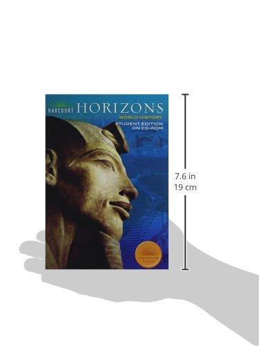Horizons grade 6 world history student edition harcourt school horizons grade 6 world history student edition harcourt school publishers 9780153447846 amazon books fandeluxe Gallery