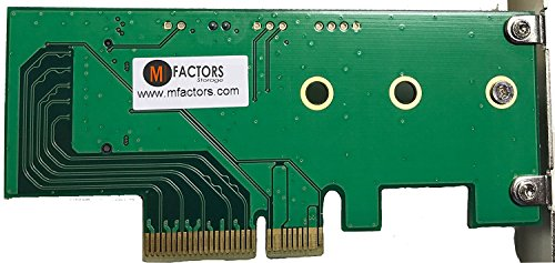 Lycom DT-120 M.2 PCIe to PCIe 3.0 x4 Adapter (Support M.2 PCIe 2280, 2260, 2242) (M 2 Pci Express Ssd Raid 0)