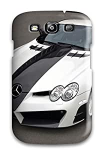 Hot Black And White Benz First Grade Tpu Phone Case For Galaxy S3 Case Cover