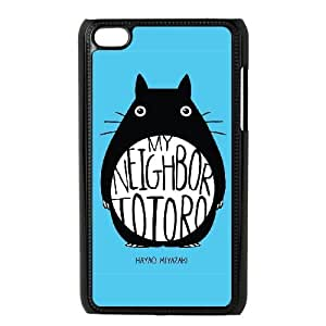 My Neighbor Totoro For Ipod Touch 4 Cases Cover Cell Phone Cases STL549918