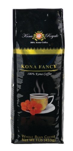 Magnum Kona Fancy 100% Kona Coffee, Whole Bean, 1 Lb