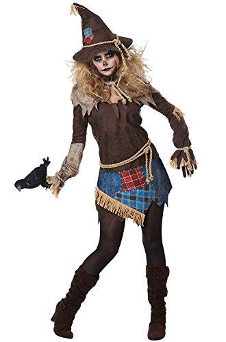 California Costumes Creepy Scarecrow Adult Costume-Small (Scarecrow Costumes For Adults)