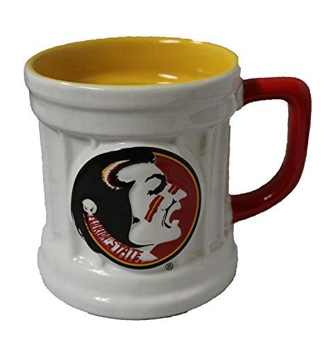 Xpres NCAA Florida State Seminoles 15 oz Two Tone Ceramic Coffee Mug (Ncaa Coffee Mugs)