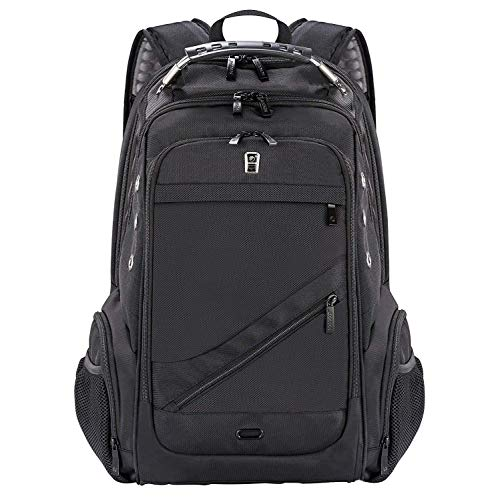 Leather Laptop Backpack b5821bc8ddd88