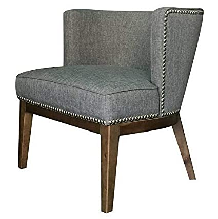 Amazon.com: Hebel Ava Accent Chair with Nailheads | Model ...