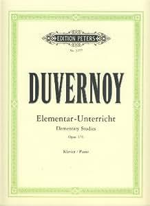DUVERNOY - Escuela Preliminar Op.176 para Piano (Ruthardt)