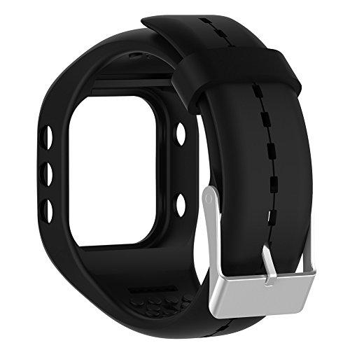 Luerme Silicone Wristband Replacement Strap Bracelet Wrist B