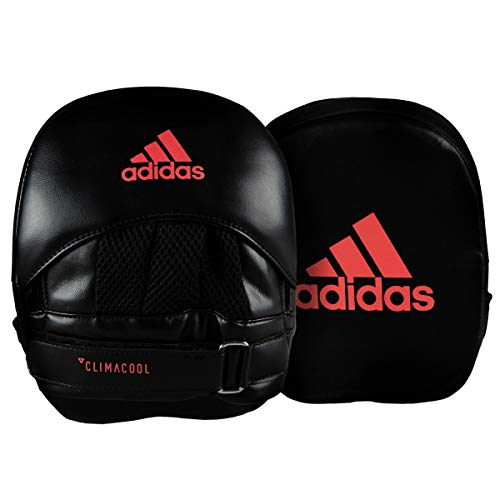 adidas FLX 3.0 Square Micro Mitts, Black/Solar Red