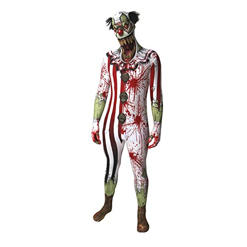 Morphsuits Zombie Clown Jaw Dropper Adult Costume -