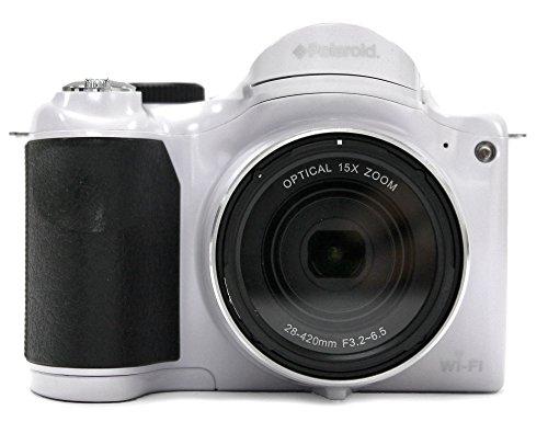 Polaroid IS1527W Optical 15x Zoom digital Camera - 16 Megapixels Starter Kit