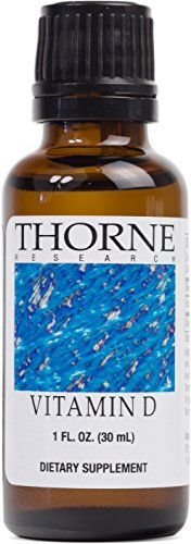 Thorne Research - Vitamin D Liquid (Metered Dispenser) - Supplement for Healthy Bones and Muscles - 1 fl oz