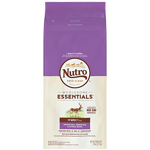 Nutro Wholesome Essentials  Adult Venison Meal, Brown Rice & Oatmeal Recipe 5 Pounds (Discontinued By Manufacturer) For Sale