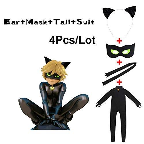 Goku Cat Halloween Costumes - JOYEAR Kid's Costume Ladybug Cat Noir