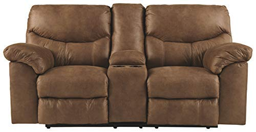 Boxberg Power Reclining Loveseat with Console, Bark - Signature Design by Ashley 3380296