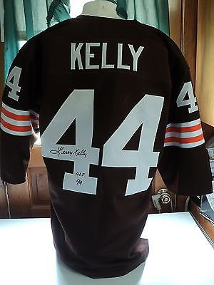 bfffdef36 Image Unavailable. Image not available for. Color: Leroy Kelly signed  Throwback Browns jersey, JSA, HOF 94