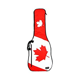 phitz electric guitar case canadian flag ph34995spe musical instruments. Black Bedroom Furniture Sets. Home Design Ideas