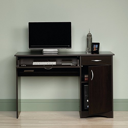 Beginnings Computer Desk in Cinnamon Cherry by Sauder