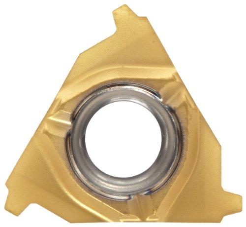 Acme Insert - Sandvik Coromant 266RL-16SA01F100E 1135 PVD Coated Solid Carbide CoroThread 266 Threading Insert, STUB-Acme Thread, 10 (Pack of 10)
