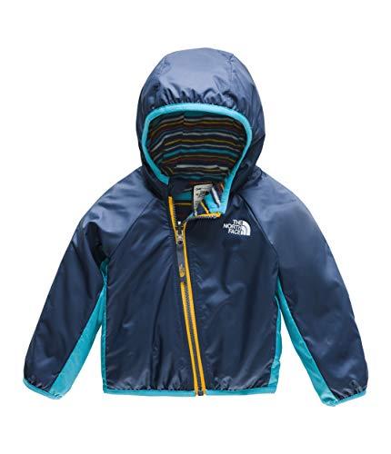 (The North Face Infant Reversible Breezeway Jacket, Shady Blue, 3M)