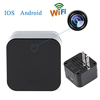 GZDL Mini Wifi USB Adapter Hidden HD Spy Camera 1080P Covert Nanny Wall Charger Camera Home Surveillance and Security Camera from Dinglin