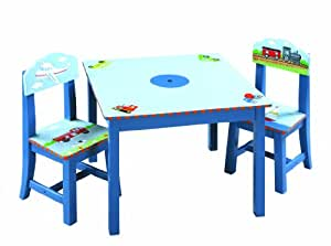 Guidecraft Transportation Table and Chair Set