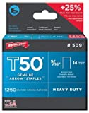 Arrow Fastener 50924 9/16'' T50 Staples