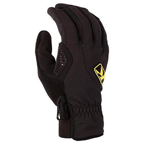 Klim Inversion Men's Ski Snowmobile Gloves -LG-Black