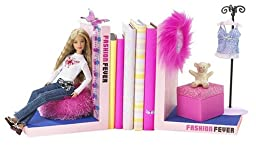 Fashion Fever Bookends with Doll