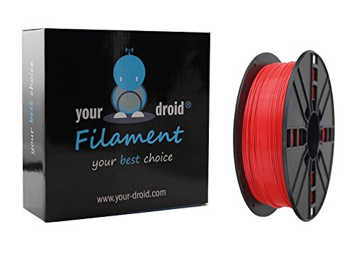 Your Droid ASA Filament Red 1.75mm 1kg