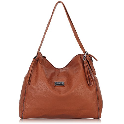 Washed Leather Hobo - 5