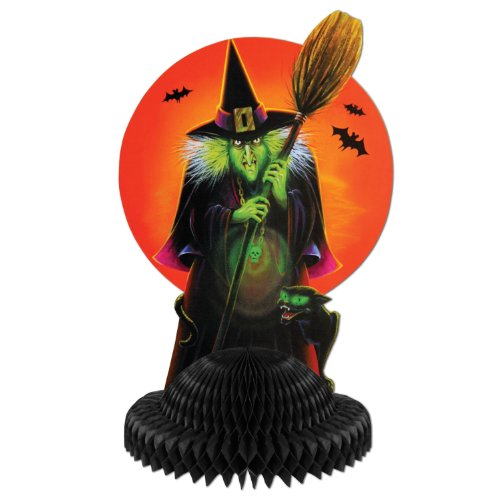 [Witch Centerpiece Party Accessory (1 count) (1/Pkg)] (Scary Halloween Witches)