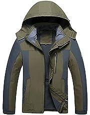 Heren Jassen- Warm Bovenkleding Sport Hooded Jas Waterbestendig Regenjas Windbreaker Klimmen Skiën Jas