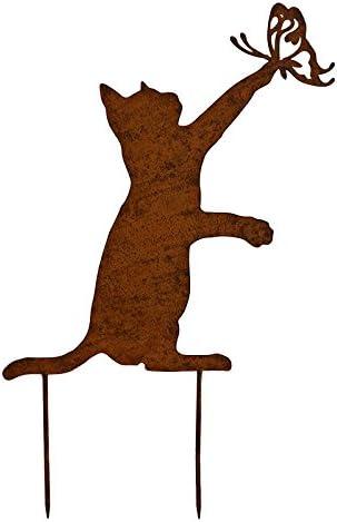 La Gran pradera Silhouette gato 45 x 30 cm: Amazon.es: Hogar